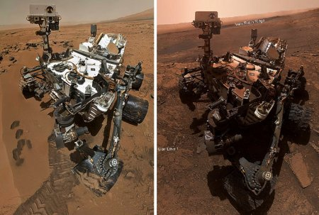 NASA's Curiosity Rover has been on Mars for more than 7 years, and here are its 10 best photos